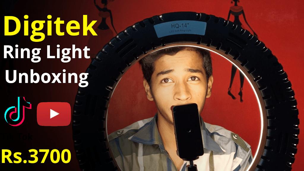 Digitek ring light DRL-18H