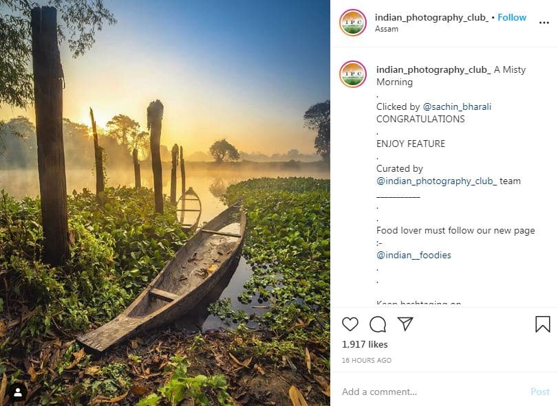 How to get featured on instagram