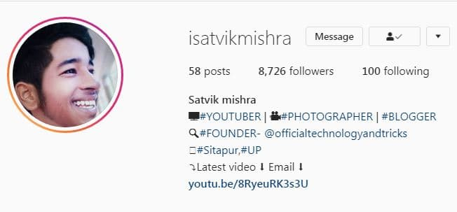 How to create a beautiful profile on instagram