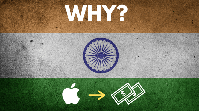 Why iphones are expensive in india