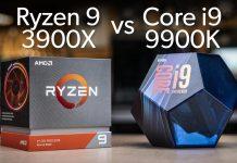 AMD Ryzen 9 3900X vs Intel Core i9-9900K