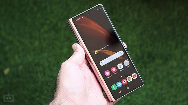 Samsung Double-Folding Smartphone