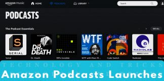 Amazon Podcasts Launches for Prime Music Users in India