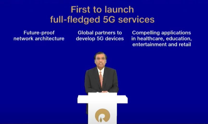 JIo 5G service