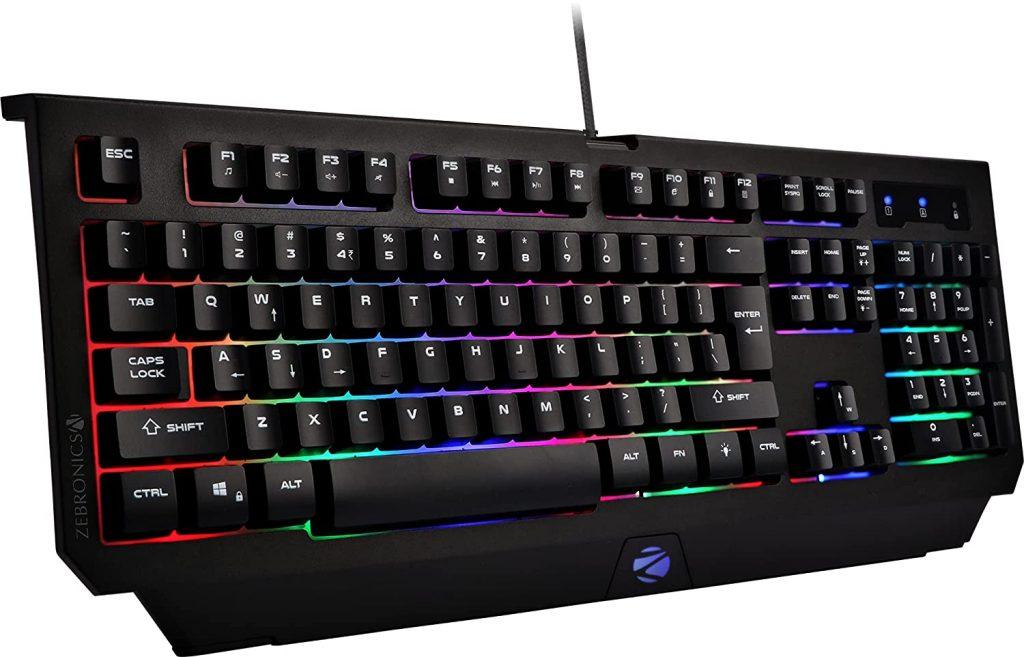 ZEBRONICS Zeb-Transformer K2 Gaming Keyboard