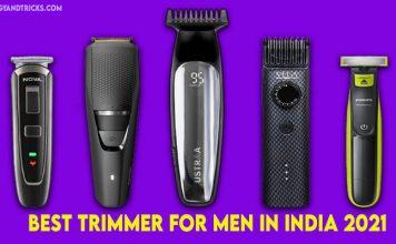 10 Best Trimmer for Men in India 2021