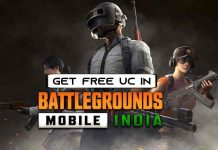 How to get Free UC in BGMI
