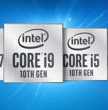 Intel Comet lake and ice lake